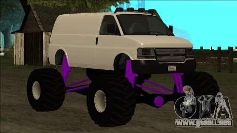 GTA 5 Vapid Speedo Monster Truck para las ruedas de GTA San Andreas