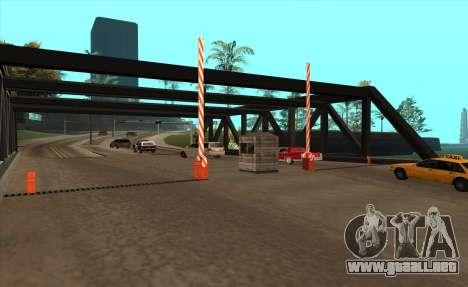 Personalizado para GTA San Andreas segunda pantalla