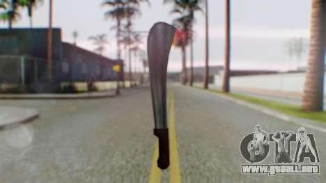 Vice City Machete para GTA San Andreas segunda pantalla