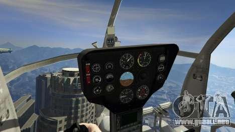 GTA 5 Hughes OH-6 Cayuse quinta captura de pantalla