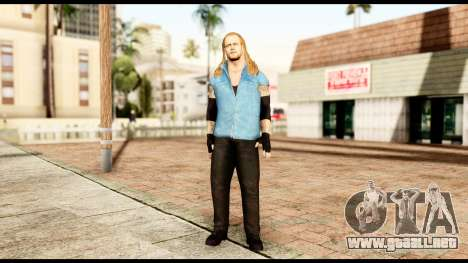 WWE UAB para GTA San Andreas segunda pantalla