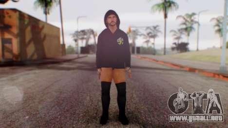 CM Punk 1 para GTA San Andreas segunda pantalla