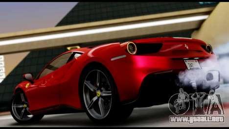 Ferrari 488 GTB 2016 para GTA San Andreas left