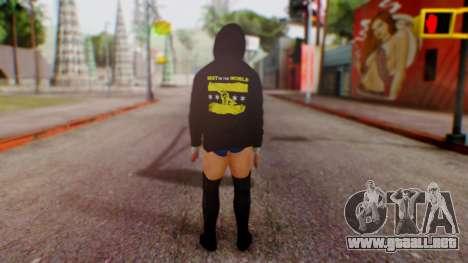 CM Punk 1 para GTA San Andreas tercera pantalla