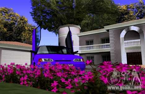 VAZ 2113 KBR para GTA San Andreas vista hacia atrás