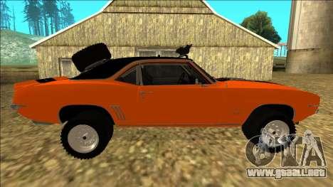 Chevrolet Camaro SS Rusty Rebel para el motor de GTA San Andreas
