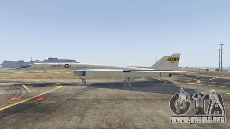 GTA 5 XB-70 Valkyrie tercera captura de pantalla