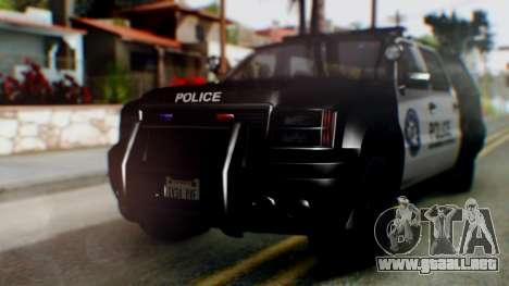 GTA 5 Police Ranger para GTA San Andreas