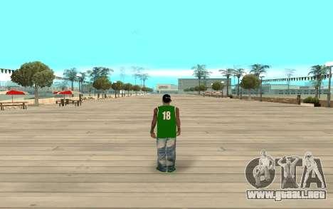 Fam3 Eli Ball para GTA San Andreas tercera pantalla