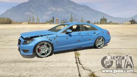 GTA 5 Mercedes-Benz CLS 6.3 AMG 1.1 volante