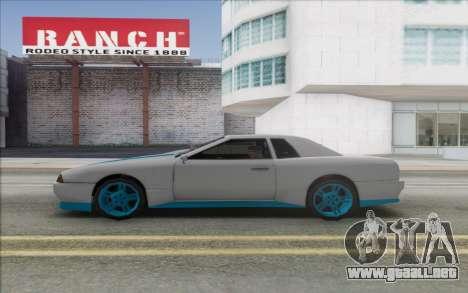 Elegy Drift King GT-1 [2.0] para la visión correcta GTA San Andreas