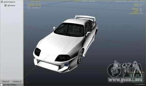 Toyota Supra JZA80 v1.4 para GTA 5