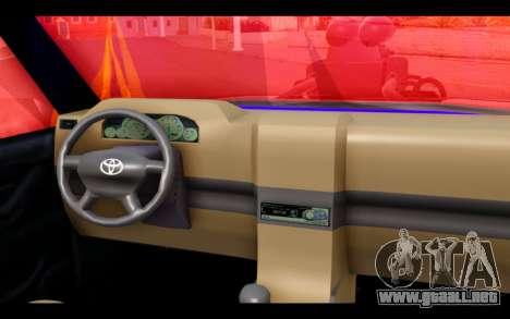 Admiral Crazy Edision Final Version 2016 para GTA San Andreas vista posterior izquierda