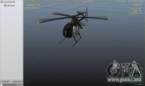 GTA 5 Hughes OH-6 Cayuse sexta captura de pantalla