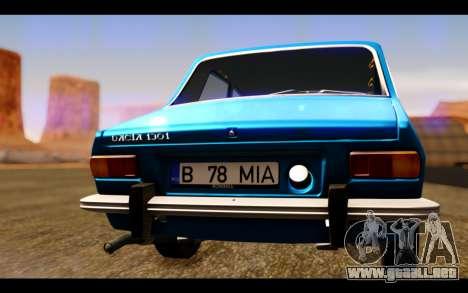 Dacia 1300 1969 para visión interna GTA San Andreas