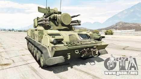 2К22 Tunguska para GTA 5