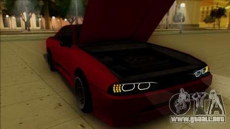Elegy HellCat para vista inferior GTA San Andreas