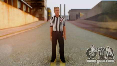 WWE Arbitro para GTA San Andreas segunda pantalla