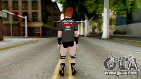 Sheamus 1 para GTA San Andreas tercera pantalla