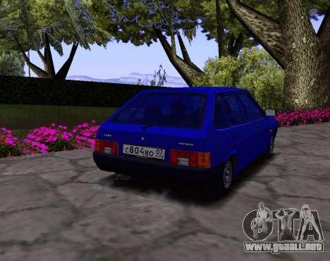 2109 KBR para la visión correcta GTA San Andreas
