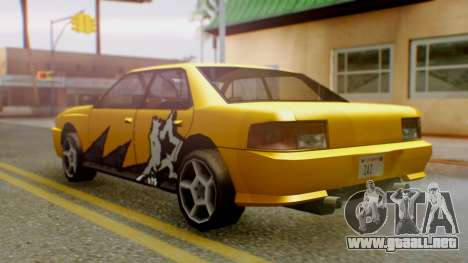 El sultán Винил из need For Speed ProStreet para GTA San Andreas left