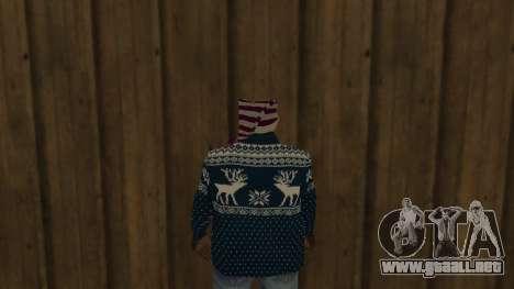 Ballas New Year Skin para GTA San Andreas tercera pantalla