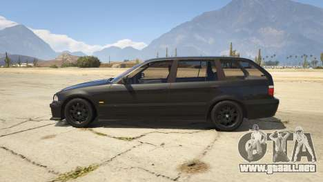 GTA 5 BMW M3 E36 Touring vista lateral izquierda