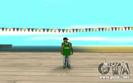 Fam3 Eli Ball para GTA San Andreas segunda pantalla