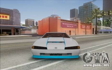Elegy Drift King GT-1 [2.0] para GTA San Andreas vista posterior izquierda