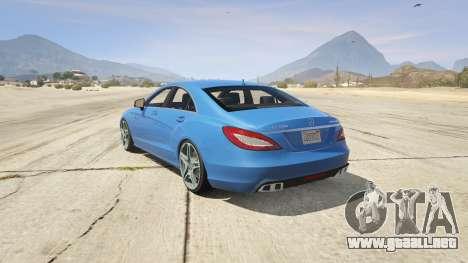 GTA 5 Mercedes-Benz CLS 6.3 AMG 1.1 vista lateral izquierda