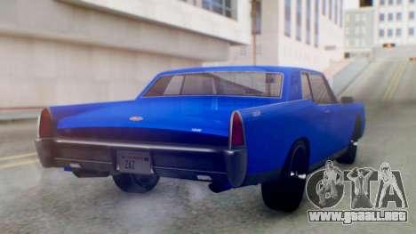 GTA 5 Vapid Chino Tunable IVF para GTA San Andreas left