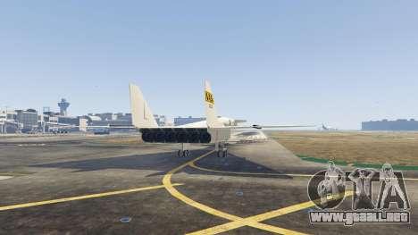 GTA 5 XB-70 Valkyrie cuarto captura de pantalla
