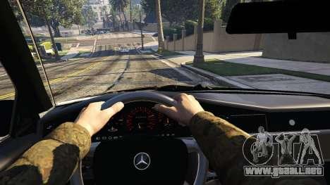 Mercedes-Benz 190E Evolution v1.1 para GTA 5