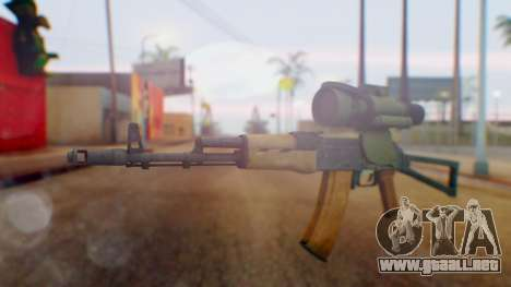 Arma OA AK-47 Night Scope para GTA San Andreas