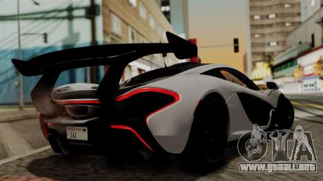McLaren P1 GTR-VS 2013 para GTA San Andreas left