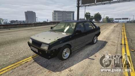 GTA 5 VAZ 21099 v3 volante
