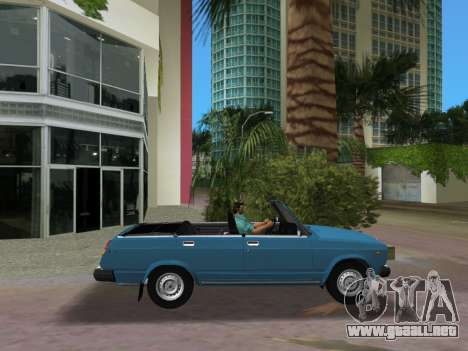 VAZ 21047 Convertible para GTA Vice City left
