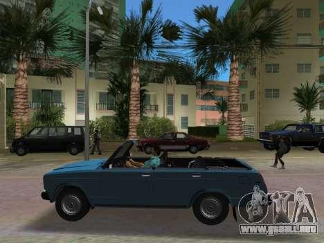 VAZ 21047 Convertible para GTA Vice City vista posterior