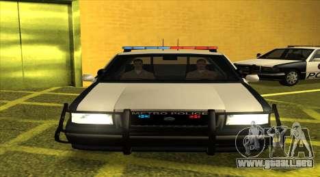 Police LS para GTA San Andreas left