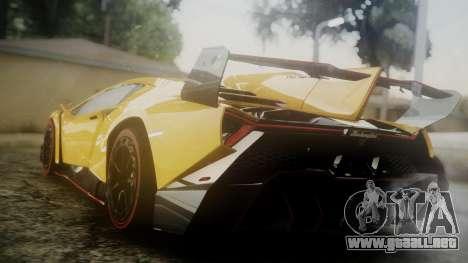 Lamborghini Veneno 2012 para GTA San Andreas left