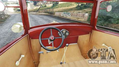 Ford Model A [mafia style] para GTA 5