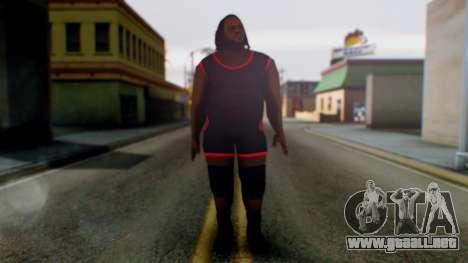 Mark He WWE para GTA San Andreas segunda pantalla