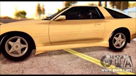 Toyota Supra MK3 Tunable para la vista superior GTA San Andreas