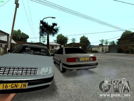 Audi 100 C4 1992 para vista inferior GTA San Andreas