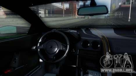 Lamborghini Murcielago LP670-4 SV 2010 para visión interna GTA San Andreas