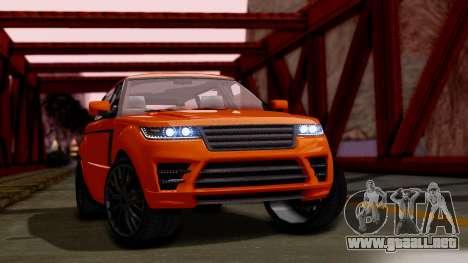 GTA 5 Gallivanter Baller LWB para GTA San Andreas