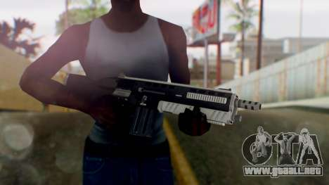 GTA 5 Assault Shotgun - Misterix 4 Weapons para GTA San Andreas tercera pantalla