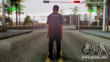 WWE Jerry Lawler para GTA San Andreas tercera pantalla