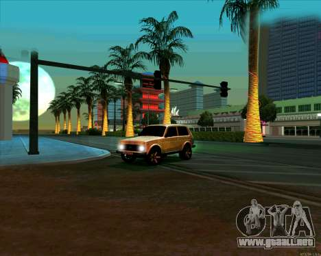 Niva 2121-Dorjar [ARM] para vista lateral GTA San Andreas