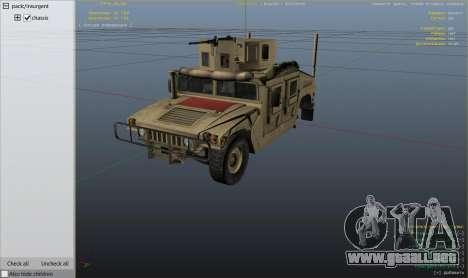 Rueda de GTA 5 M1116 Humvee Up-Armored 1.1